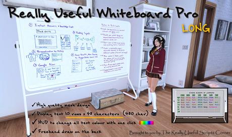 Really Useful Whiteboard Pro III [MESH] Long (boxed)