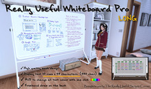 Really Useful Whiteboard Pro III [MESH] Long (boxed) v3.5