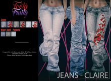 *SALE* Tooty Fruity - Jeans - Claire