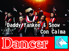 Targaryen Shop -Daddy Yankee & Snow - Con Calma Male DANCER BOX
