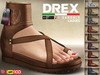 CA PROMO BELLEZA MAITREYA SLINK TMP DREX SANDAL LADIES LEATHER