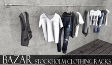 ~BAZAR~Stockholm Clothing Racks