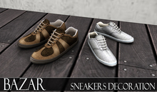 ~BAZAR~Sneakers decoration