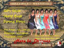 50's Shelf Bust Swing Dress