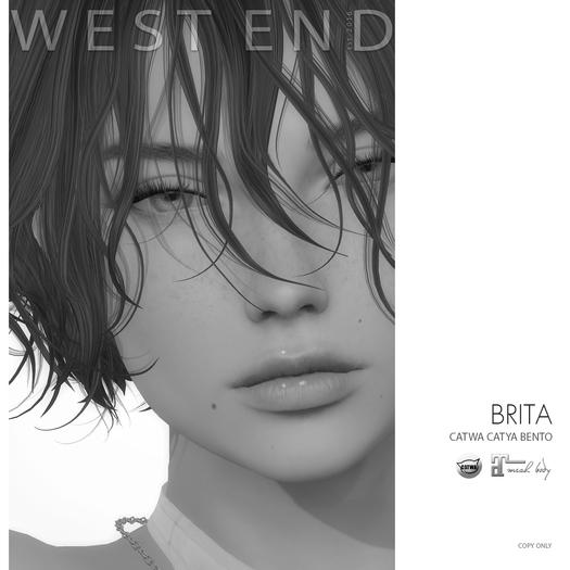 [DEMO][ west end ] Shapes - Brita (Catwa Catya Bento)(add)