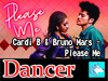 Cardi B & Bruno Mars - Please Me Dancer Boxed