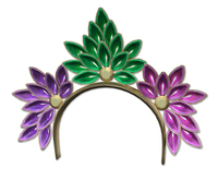 [Sugarplum Boutique] Mardi Gras Peacock Headband