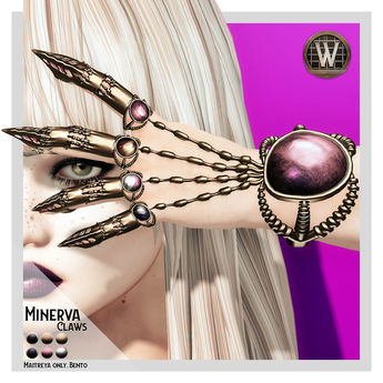 Wicca's Wardrobe - Minerva Claws [BOXED]