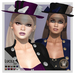 Wicca's Wardrobe - Lucile Hat [BOXED]