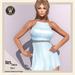Wicca's Wardrobe - Iris Dress [Sky] [BOXED]