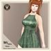 Wicca's Wardrobe - Iris Dress [Moss] [BOXED]