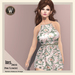 Wicca's Wardrobe - Iris Dress [Pink Flowers] [BOXED]