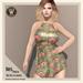 Wicca's Wardrobe - Iris Dress [Retro Flowers] [BOXED]