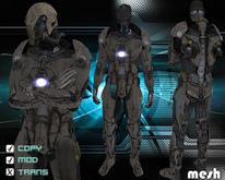 Cyborg post-apocalyptic