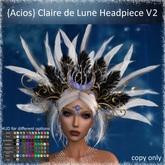 {Acios} Claire de Lune Headpiece V2