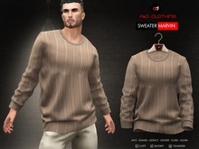 A&D Clothing - Sweater -Marvin- Brown