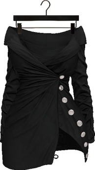 Addams - Brielle -  Buttoned Dress #30