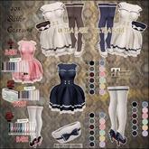 "#28""mignon."" -40s sailor socks+heels.[Maitreya exp] black"