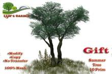 Lady's Garden - Summer Tree (Gift) 10 Prim