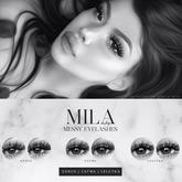 . MILA . Messy Eyelashes (Catwa/Genus/LeLutka) DEMO