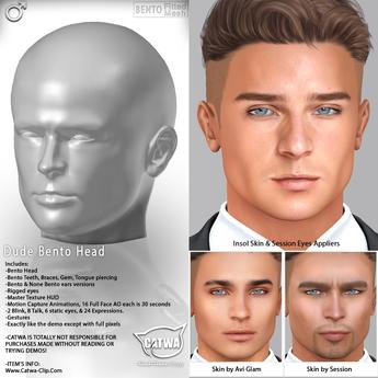 CATWA HEAD Dude