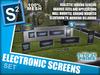 S2 electrinic screens art