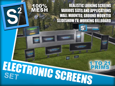 S2 Electronic Screens Set