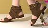 Full Perm Ankle Wrap Flat Sandals Maitreya Flat, Slink Flat, Ocacin Flat