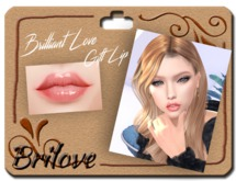 [PROMO]{Brilove} Jewelry Lip - Rose pink {Gift}