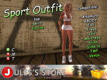 :: J :: Sport Outfit (White)
