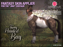 *CINNAMON* Jinx Centaur - Furry Painted Bay -BOX (add me)