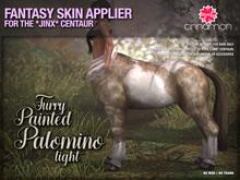 *CINNAMON* Jinx Centaur - Furry Painted Palomino -BOX (add me)