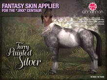 *CINNAMON* Jinx Centaur - Furry Painted Silver -BOX (add me)