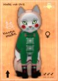 KittyCatS Box - F - NutCracker SweetS! - Green Gummie Girl