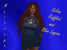 Angie's Selina Ruffled mini Blue Lagoon