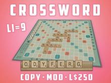 TBF Crossword