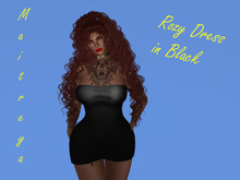 Angie's Rozy Dress Black