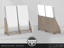 Burin: Brochure Stand