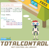 TotalControl (LSL Library for Second Life bots: move, talk, listen, pay!)