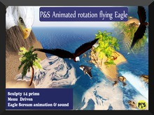 PS Animted  Eagle Cycle 3.0 Plakat
