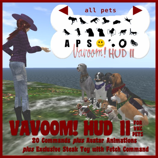 Vavoom! VKC HUD II (Boxed) - Accessories and Toys for Virtual Kennel Club (VKC®) Pets - No Training Required