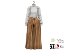 {amiable}Mesh Wide Salopette All In One Dress04