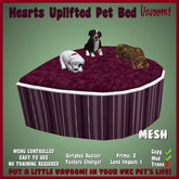 Hearts Uplifted Pet Bed by Vavoom!