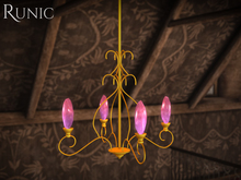 .: Runic :. Mythra Chandelier