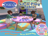 [Killi's] Sit-N-Play Table Cloudy - Interactive (Sit or Stand)
