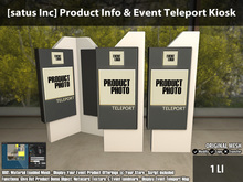 [satus Inc] Product Info & Event Teleport Kiosk