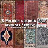 8 Persian carpets FP set5