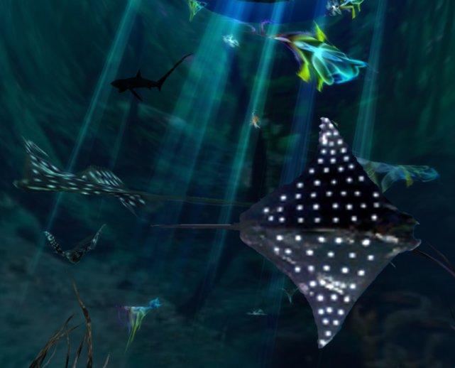 Deep Ocean Manta Ray