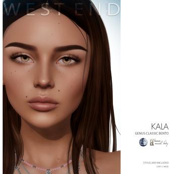 [ west end ] Shapes - Kala (Genus Classic Bento) (add)
