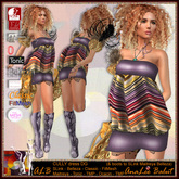 ALB CULLY dress DG & boots by AnaLee Balut - ALB DREAM FASHION